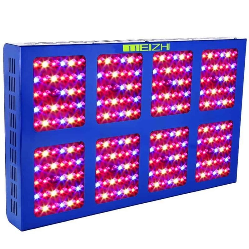 MEIZHI Reflector-Series 1200W LED Grow Light Review 2019